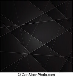 plain black background - Abstract vector background with...