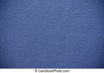 Plain Blue Fabric Texture Background