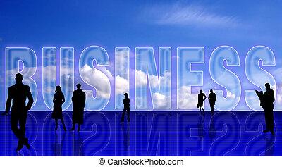Plain Business symbolic