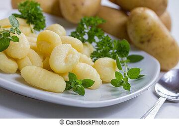 plain Gnocchi pasta