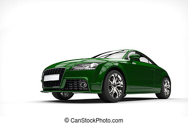 Plain Green Car