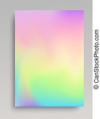 Plain iridescent vertical gradint backdrop. Smooth color...