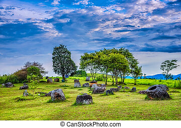 Plain of Jars. - Plain of Jars is a megalithic...
