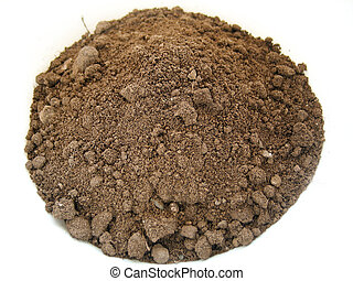 Plain Soil - Plain brown soil, in a rounded shape.