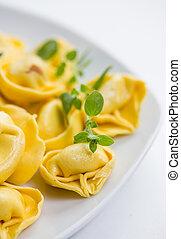 plain tortellini