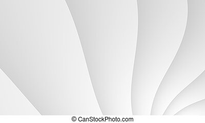 Plain white abstract fractal background