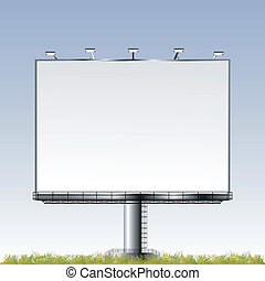 plakátovací tabule, ve volné přírodě, důležitý