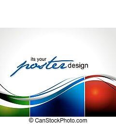 plakat, design