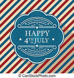 plakat, juli viert