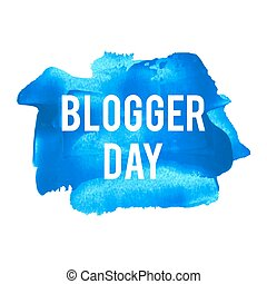 plakat, karte, gemalt, blogger, abbildung, feiertag, geschrieben, wörter, hintergrund, text, feier, tag, logo