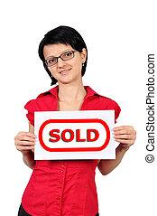 plakkaat, verkoop