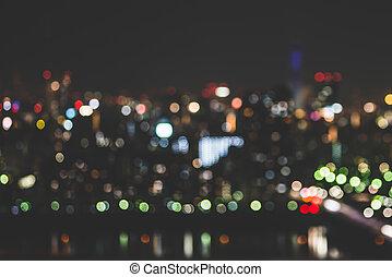 plama, miasto lekkie, tło, abstrakcyjny
