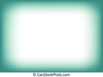 plama, tło, copyspace, błękitna zieleń