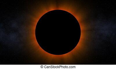 planète, 01, éclipse, (24fps)