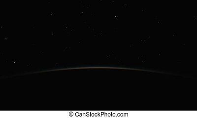 planète, 4k, levers de soleil