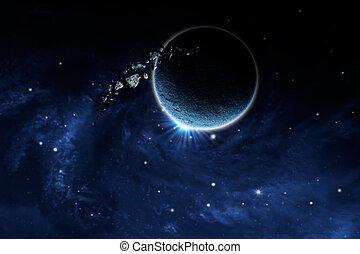 planète, astéroïde