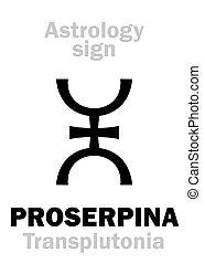planète, astrology:, suprême, proserpina