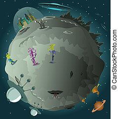 planète, colonisation