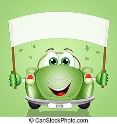 planète, eco-car, respect