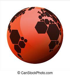 planète, football