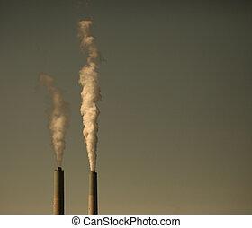 planète, gaspillage industriel, polluer