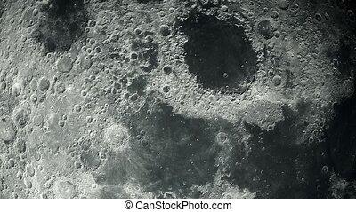 planète, image, meublé, lune, réaliste, astronomique, earth...
