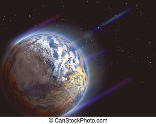 planète, jonc