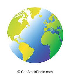 planète, la terre