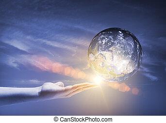 planète, notre, la terre