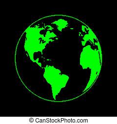 planète, pixel