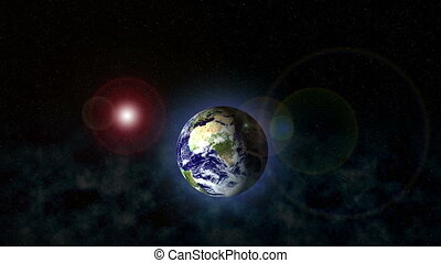 planète, résumé, océan, espace