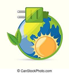 planète, sauver, conservation énergie