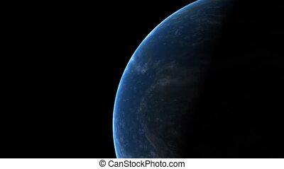 planète, tourner