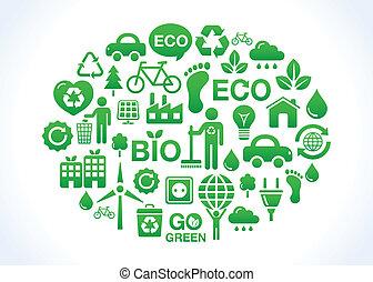 planète, vert