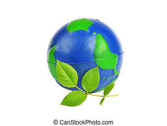 planète verte, concept