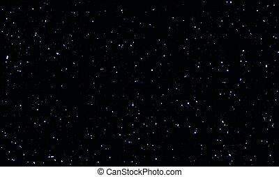 planètes, nuit, ciel étoilé, étoiles