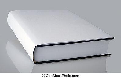 planície, branca, livro
