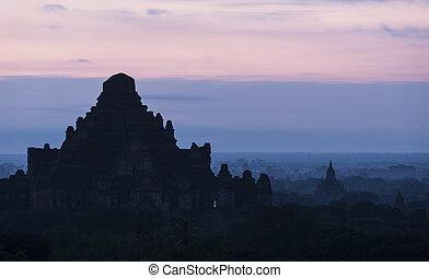 planície, mandalay, bagan(pagan), myanmar