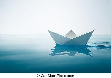 planície, velejando