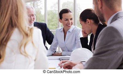 plan, 35, réunion, architectes, bureau