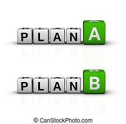 plan, a, och, b
