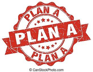 plan a stamp. sign. seal