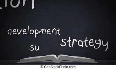 plan affaires, livre