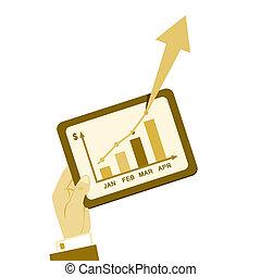 plan affaires, rapport, vendange