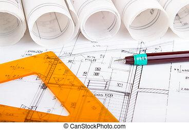 plan, architecturaal