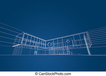 plan, architecture