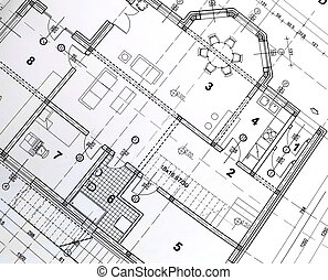 plan, architektoniczny