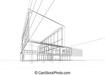 plan, architektura