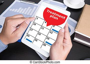 plan, behandling