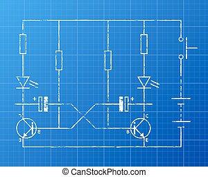 plan, circuit